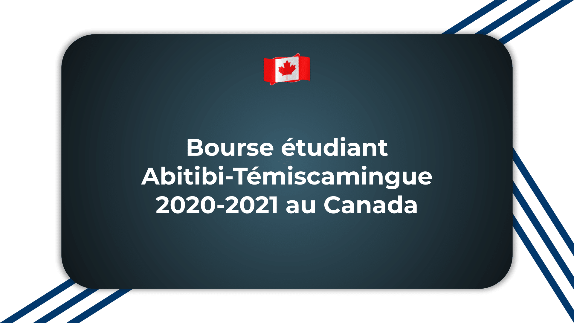 Bourse étudiant Abitibi-Témiscamingue