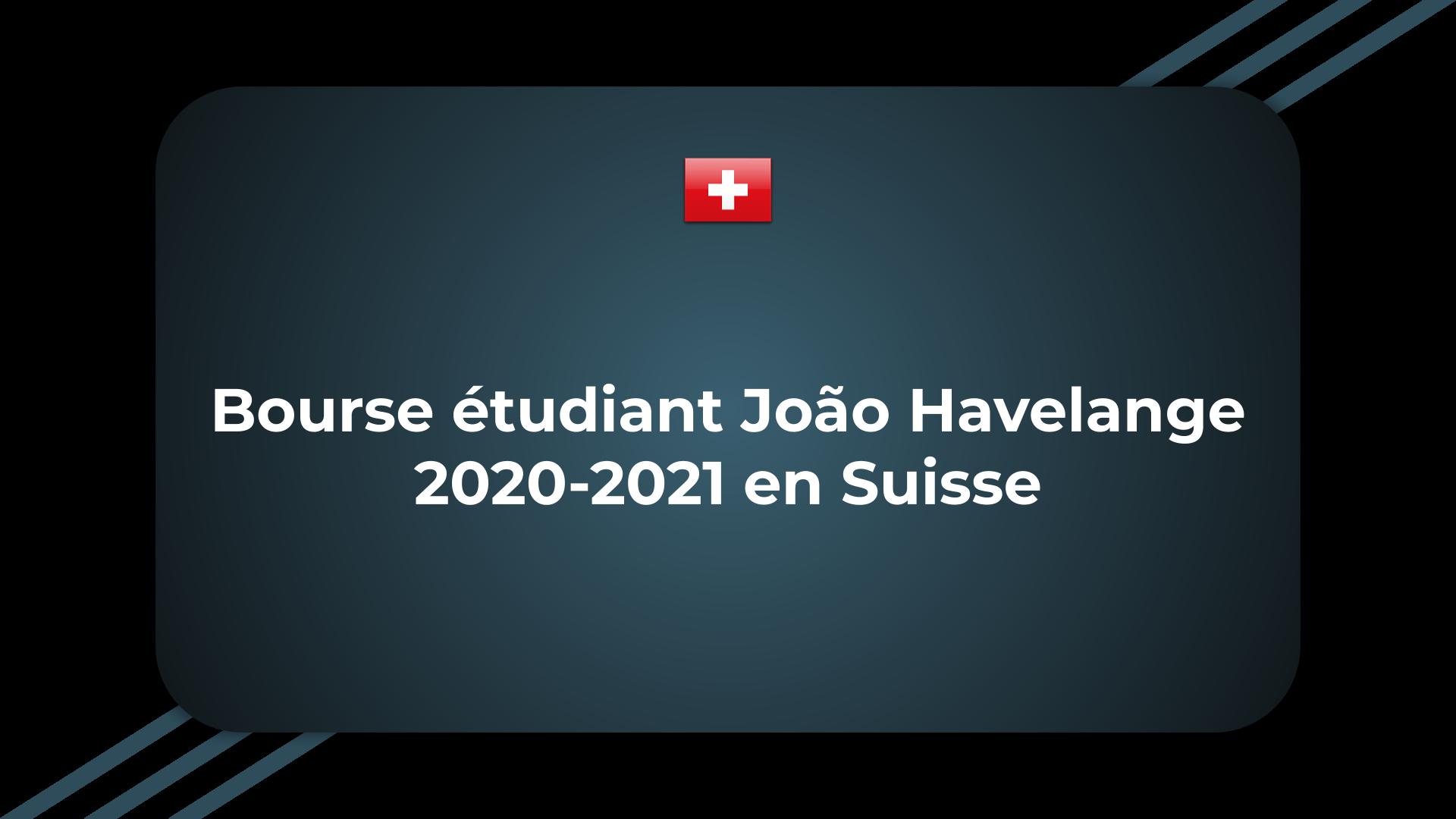 Bourse étudiant João Havelange