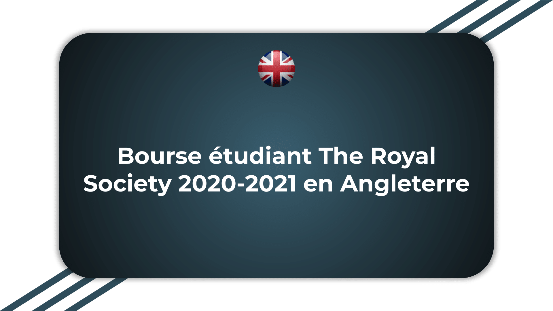 Bourse étudiant The Royal Society