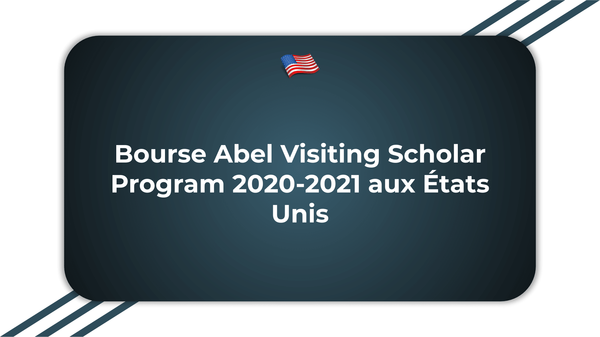 Bourse Abel Visiting Scholar Program