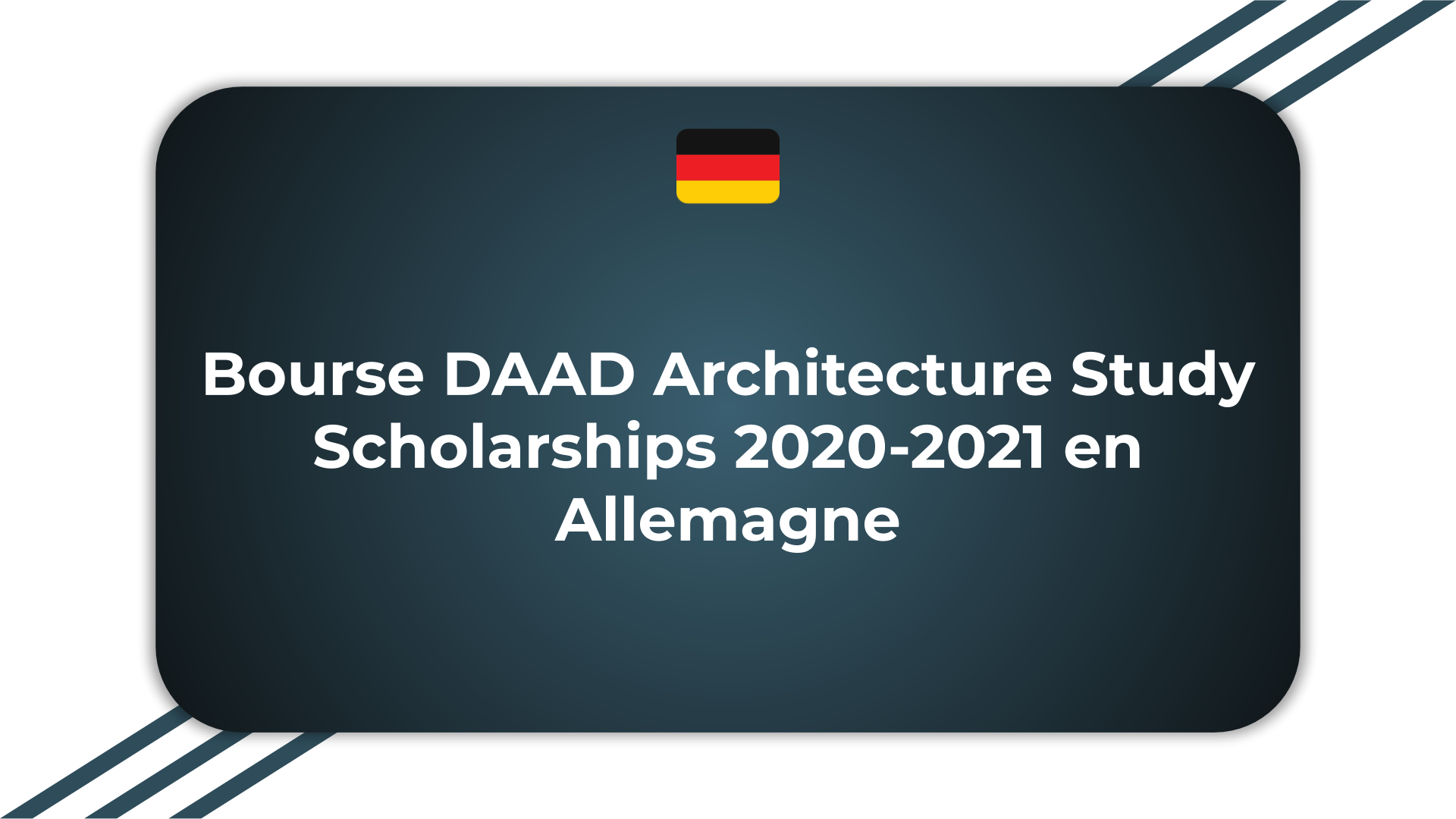 Bourse DAAD Architecture Study Scholarships