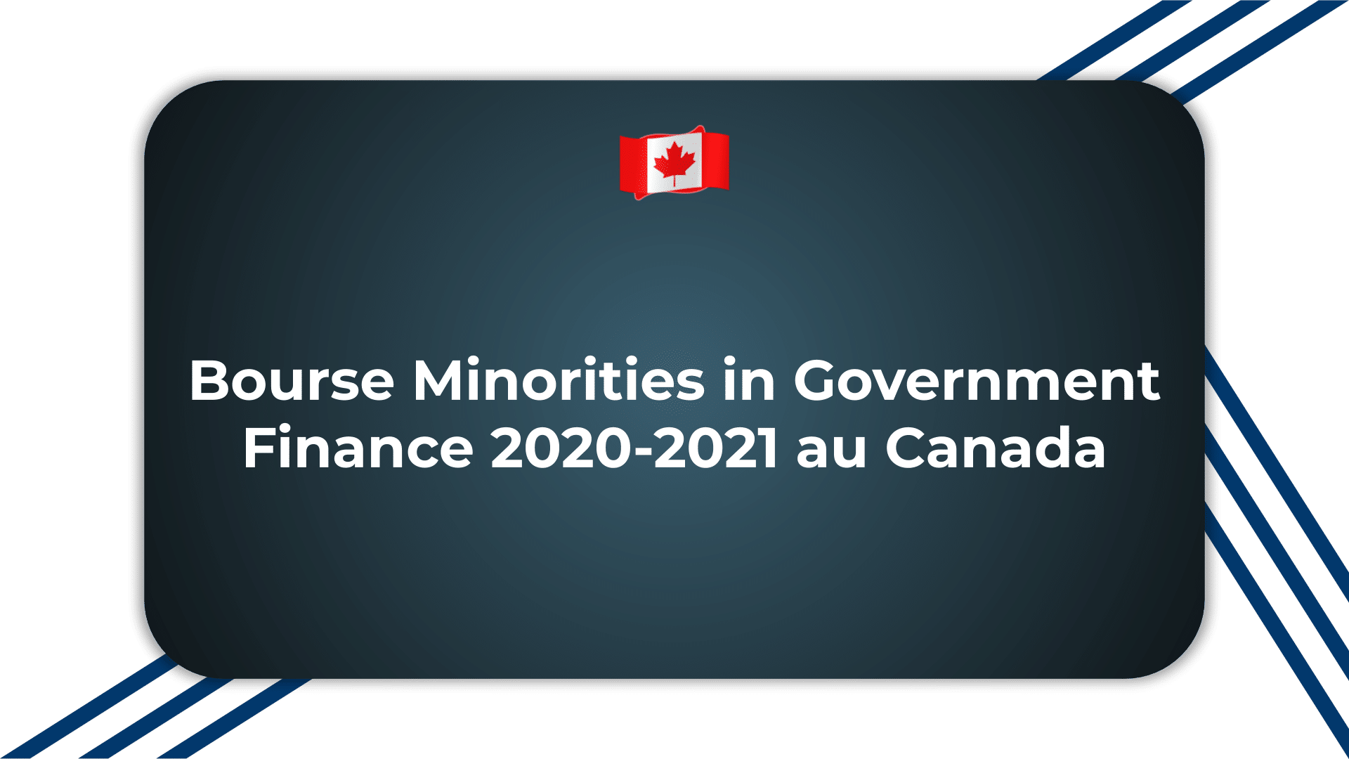 Bourse Minorities in Government Finance