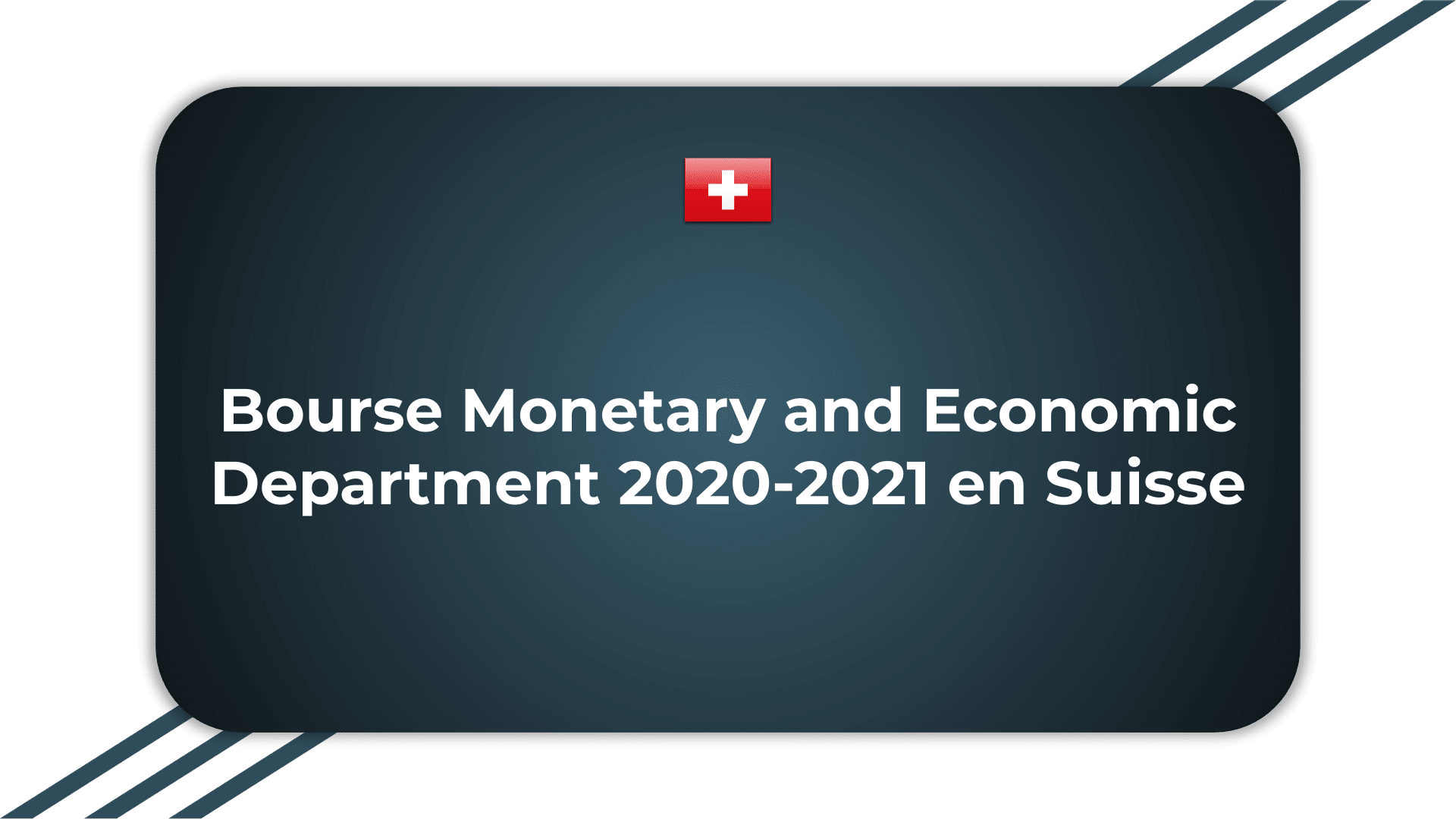 Bourse Monetary and Economic Department