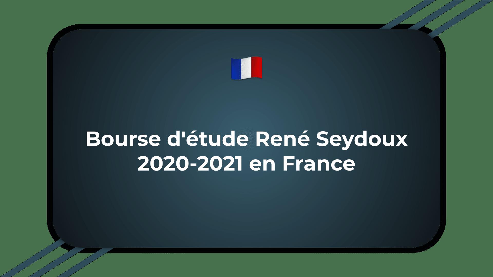 Bourse René Seydoux