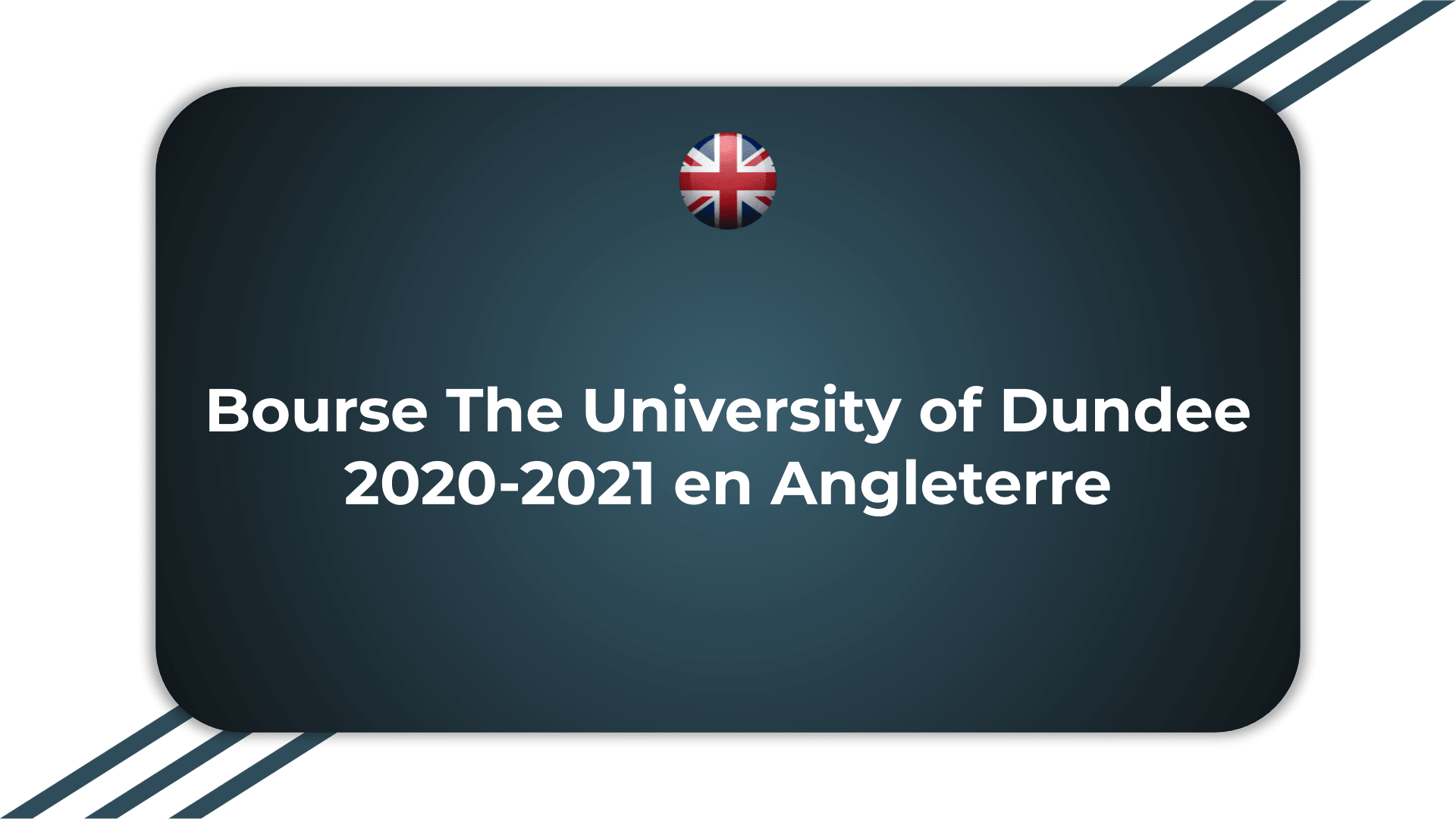 Bourse The University of Dundee