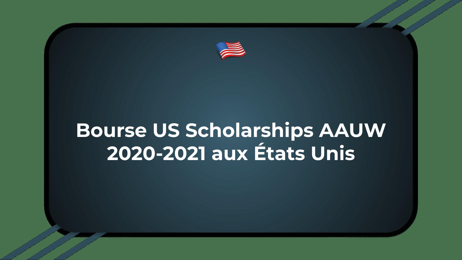 Bourse US Scholarships AAUW