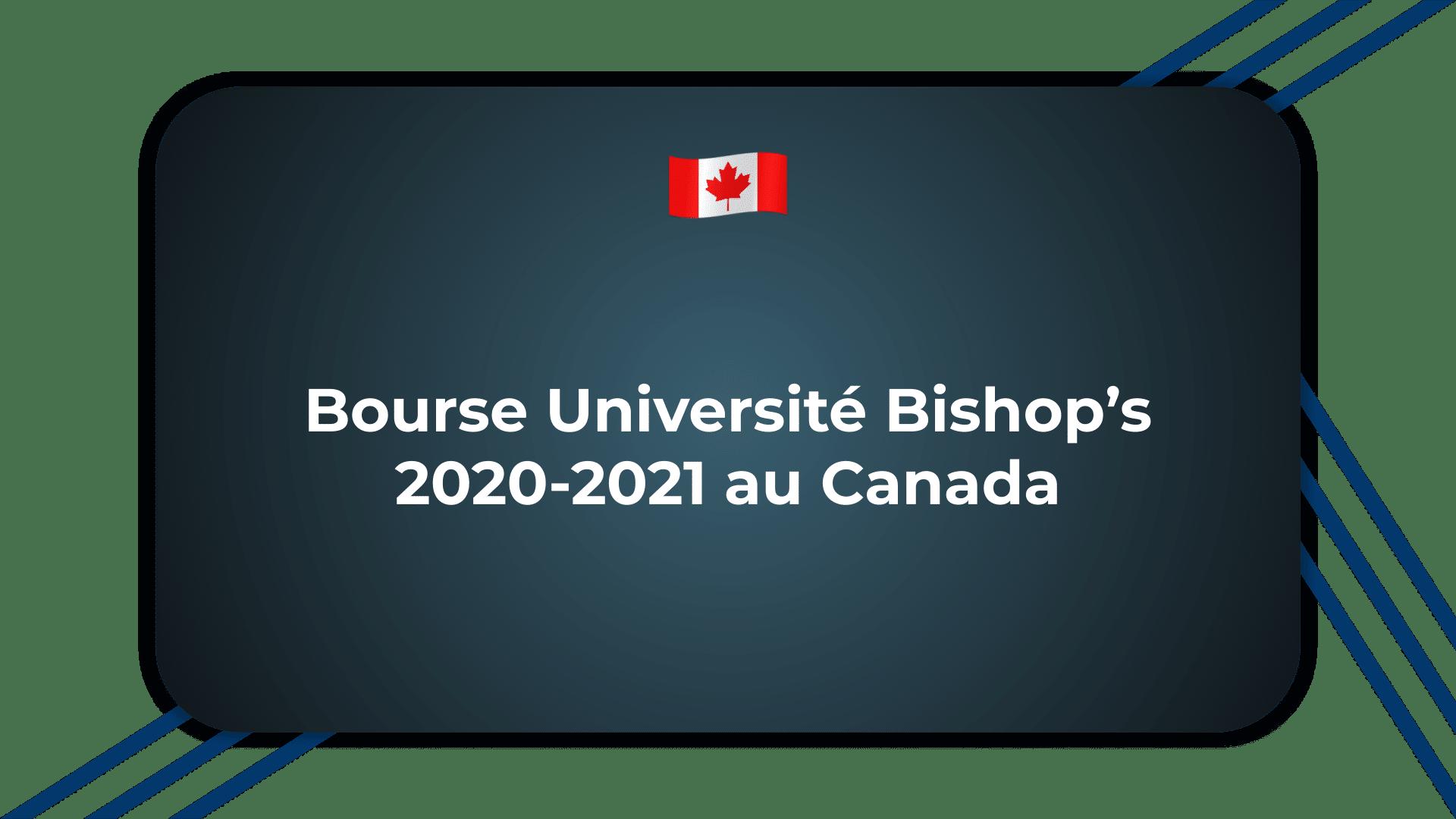 Bourse Université Bishop's