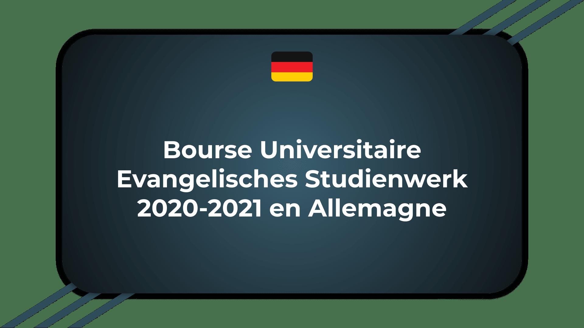 Bourse Universitaire Evangelisches Studienwerk