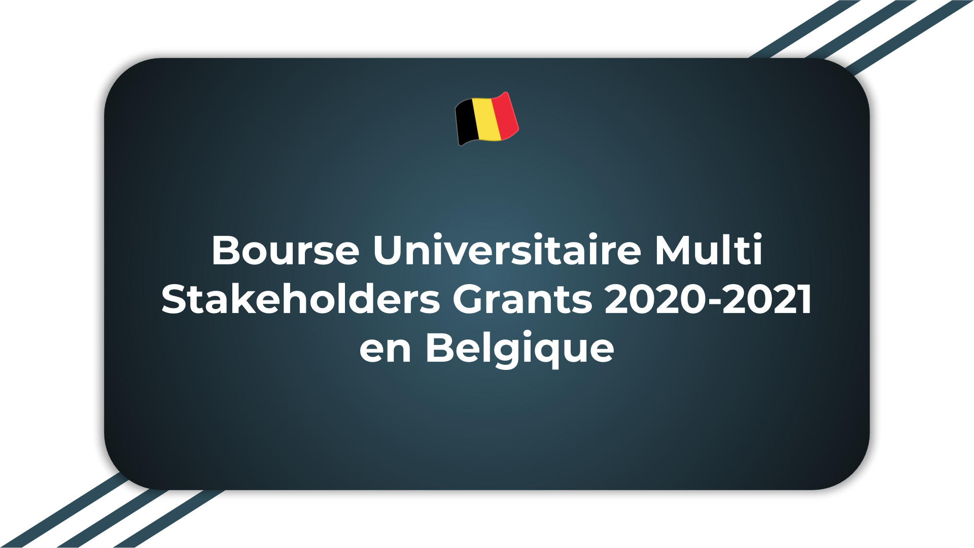 Bourse Universitaire Multi Stakeholders Grants