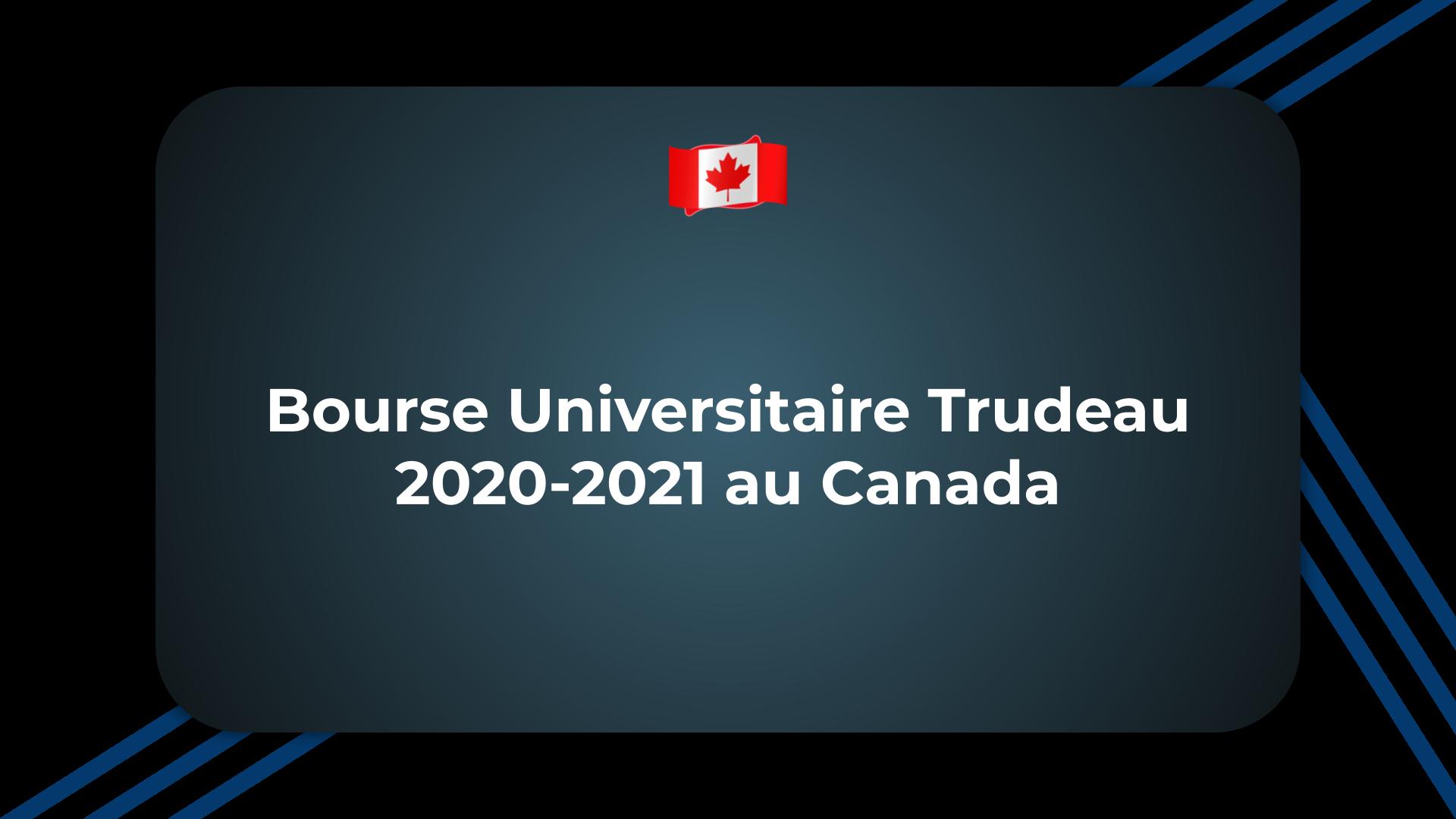 Bourse Universitaire Trudeau