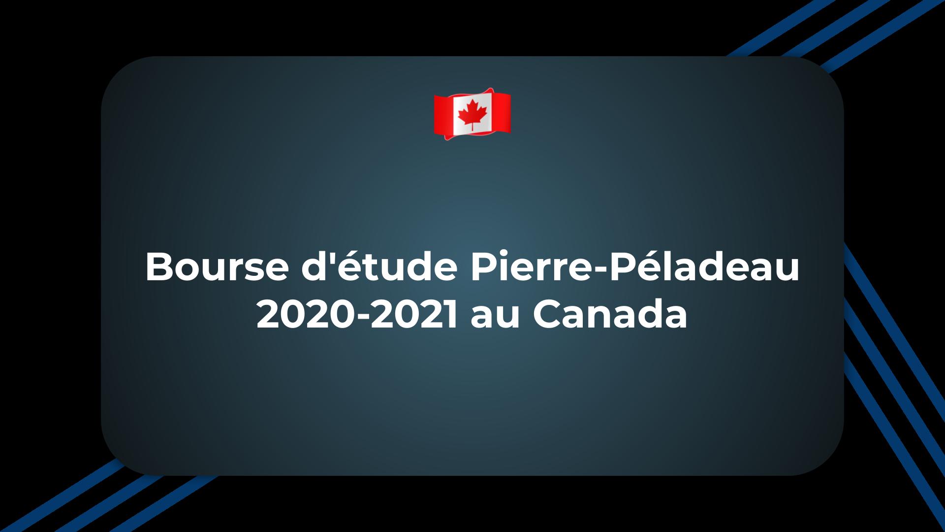 Bourse d'étude Pierre-Péladeau