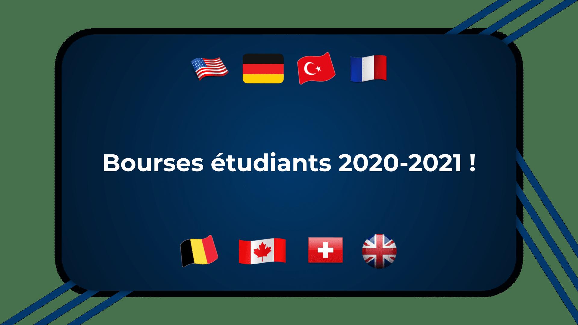 Bourses étudiants 2020-2021