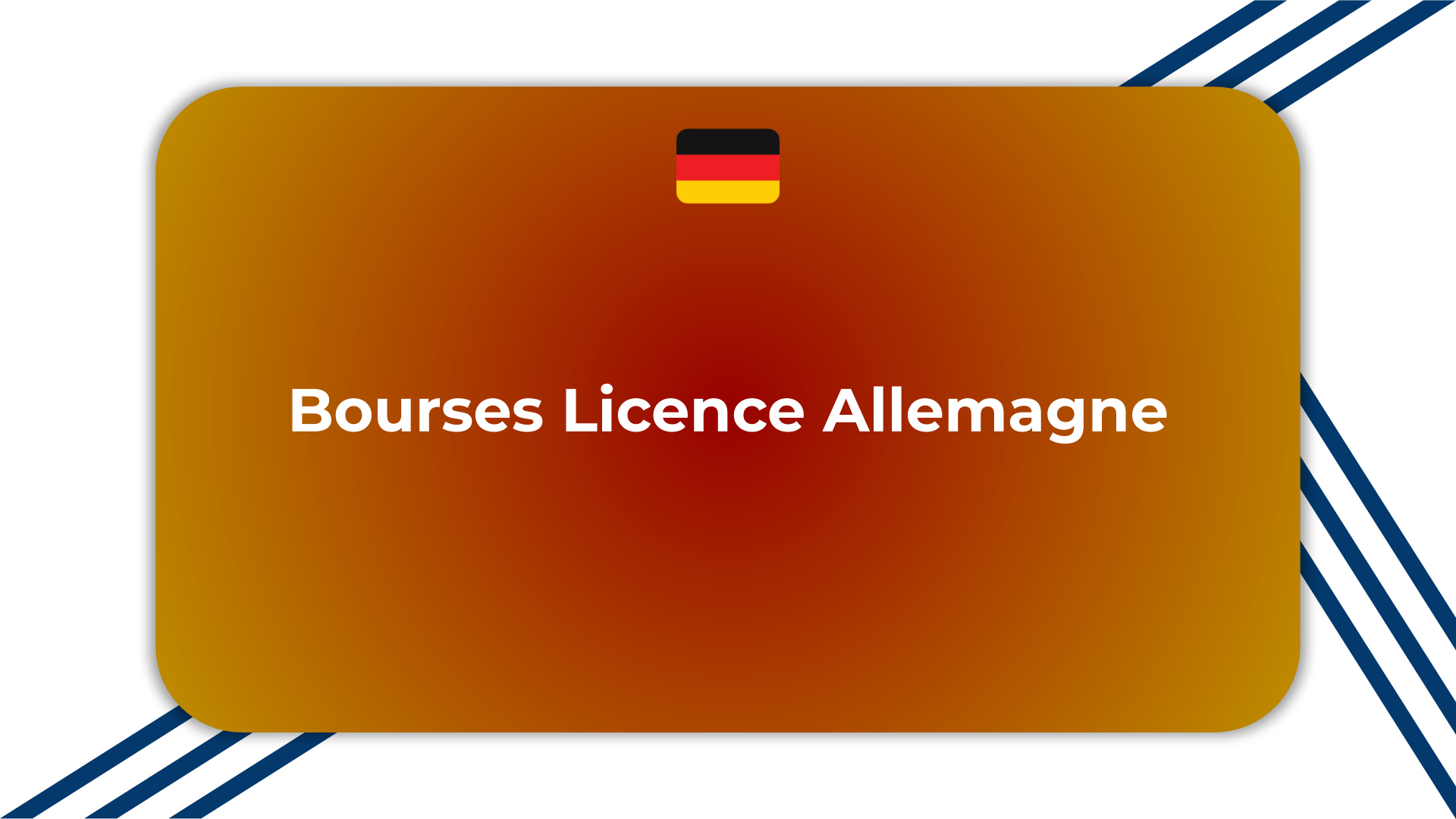Bourses Licence Allemagne