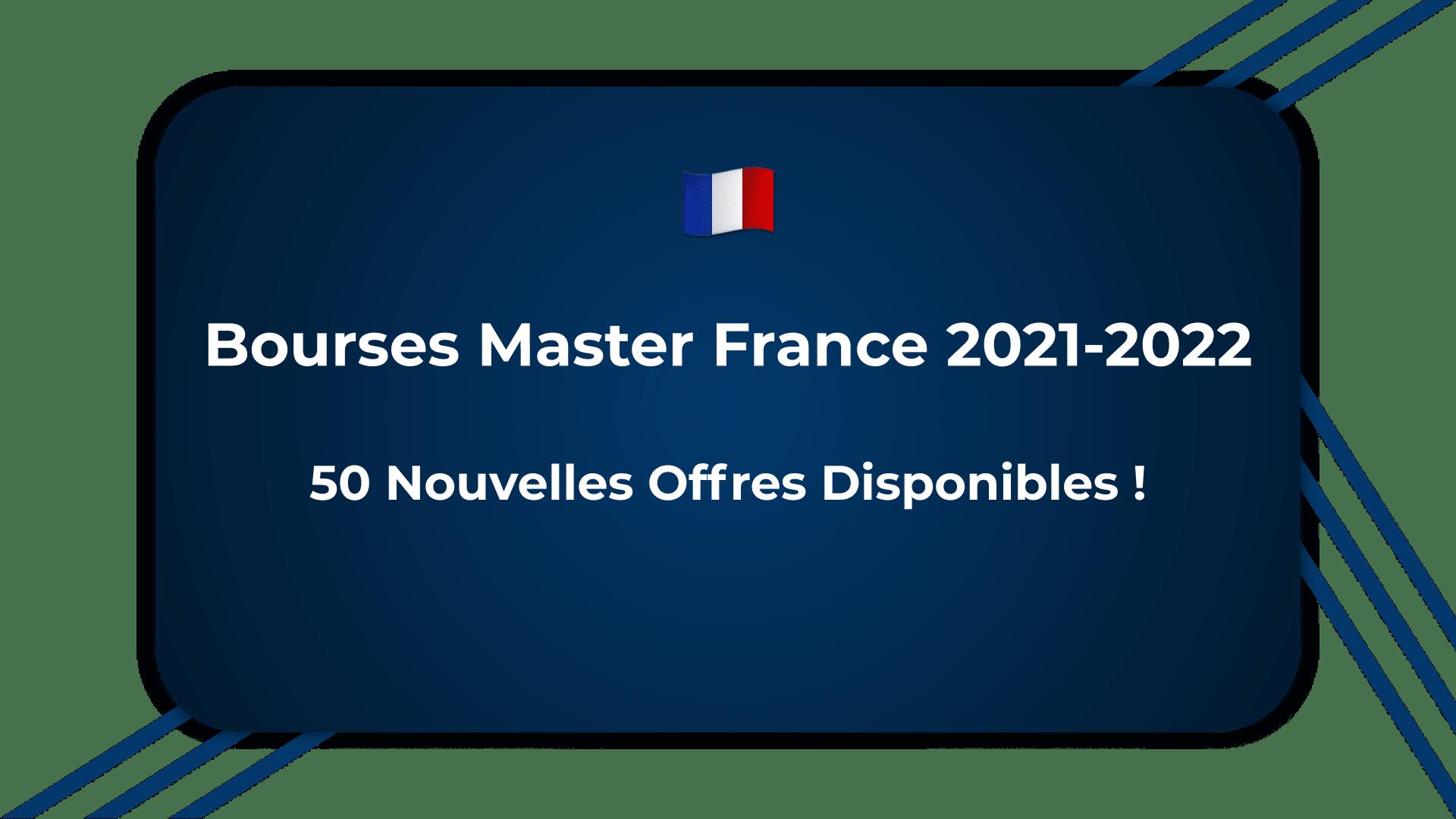Bourses Master France
