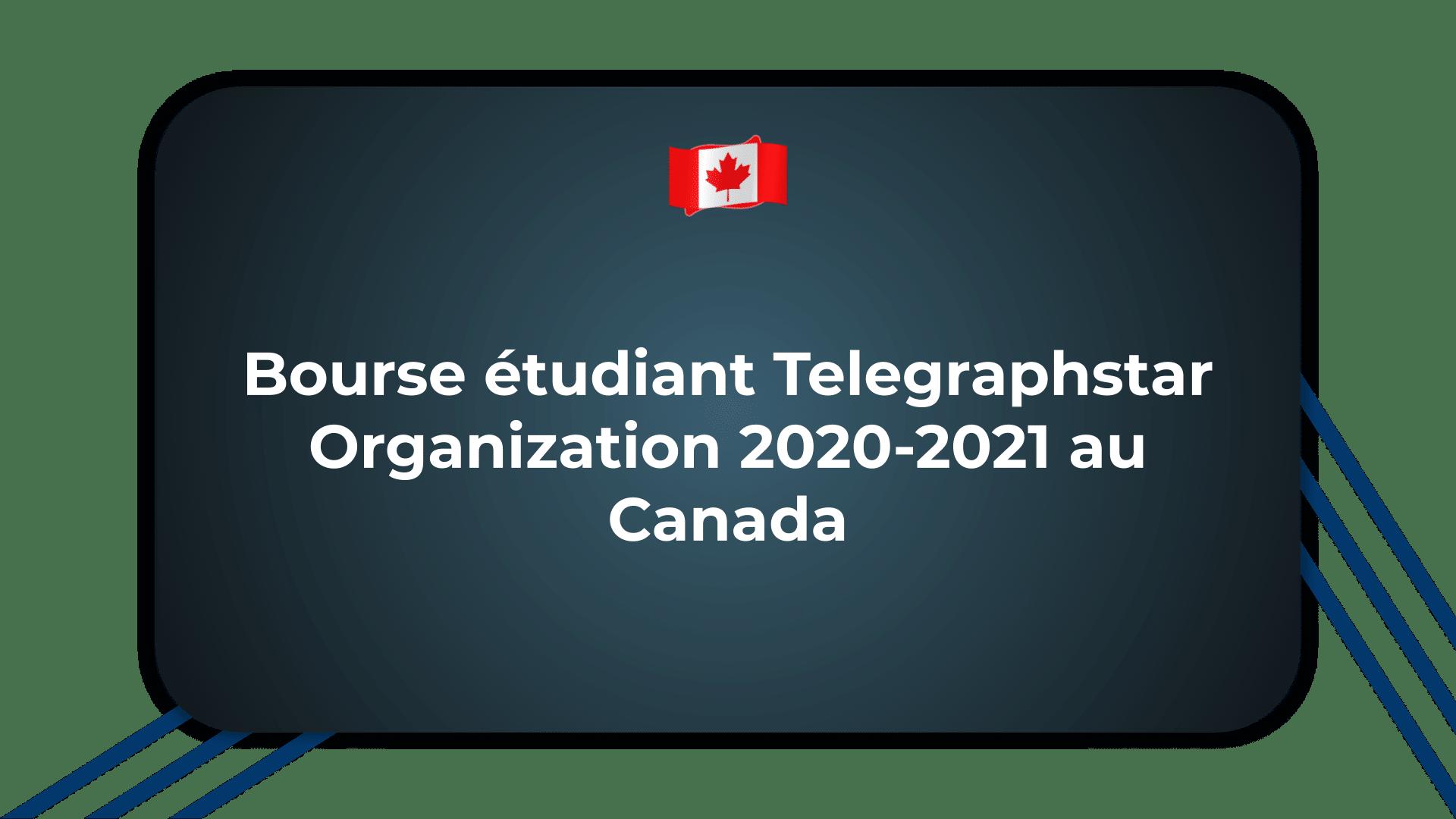 Bourse étudiant Telegraphstar Organization