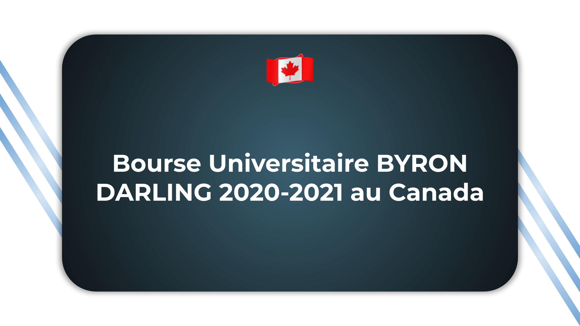 Bourse Universitaire BYRON DARLING