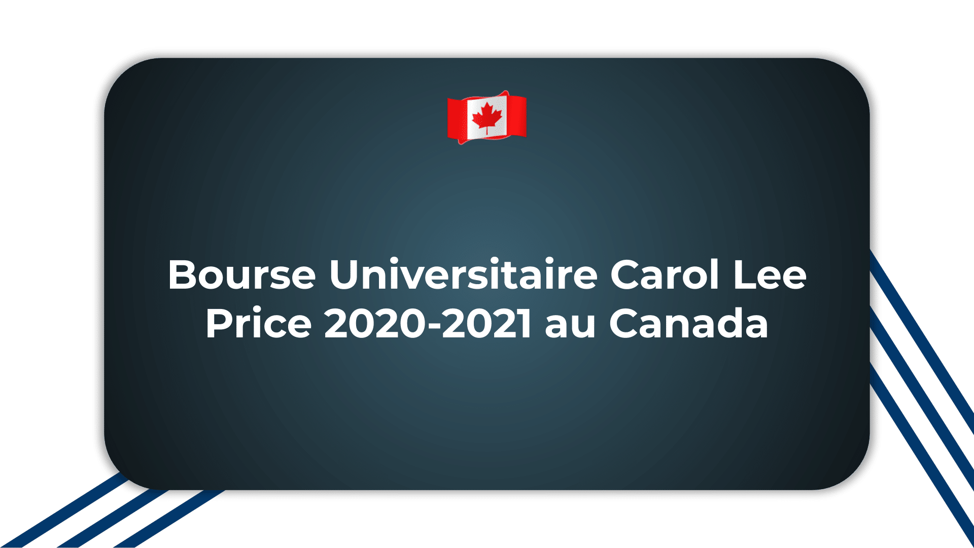 Bourse Universitaire Carol Lee Price