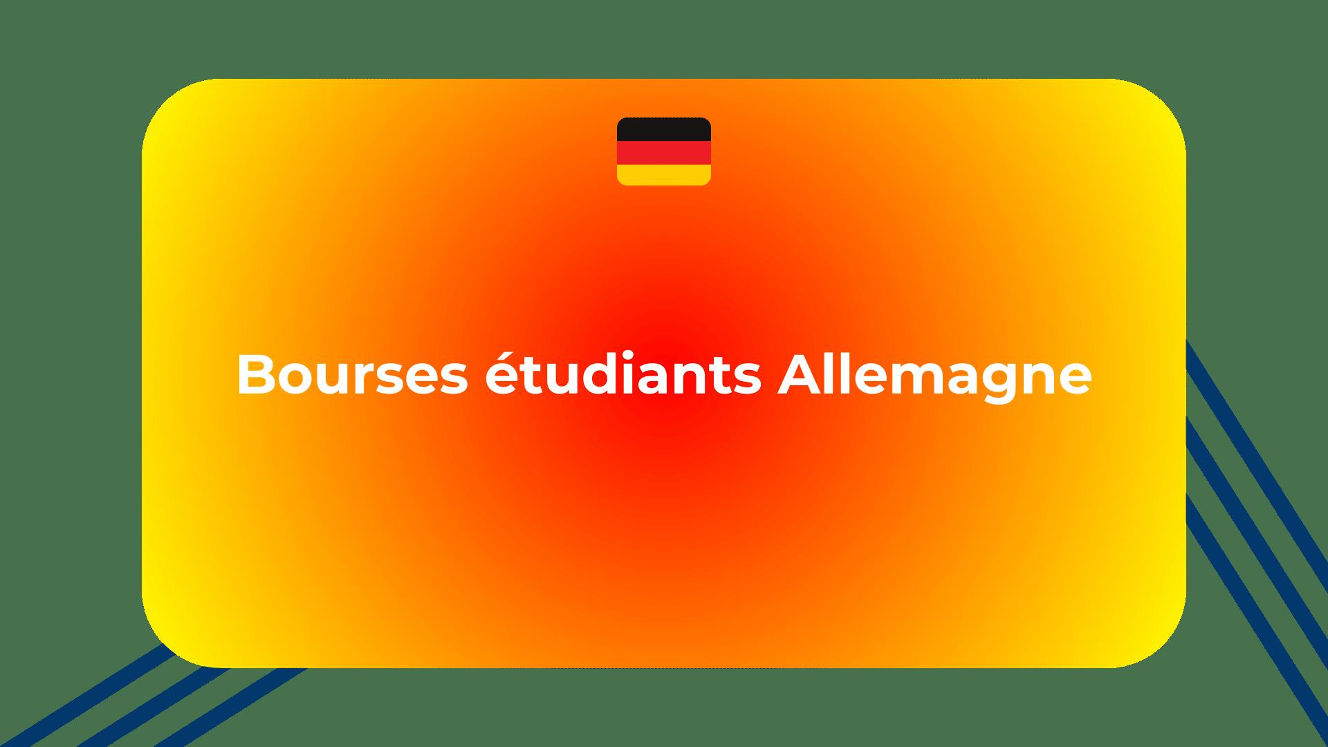 Bourses étudiants Allemagne