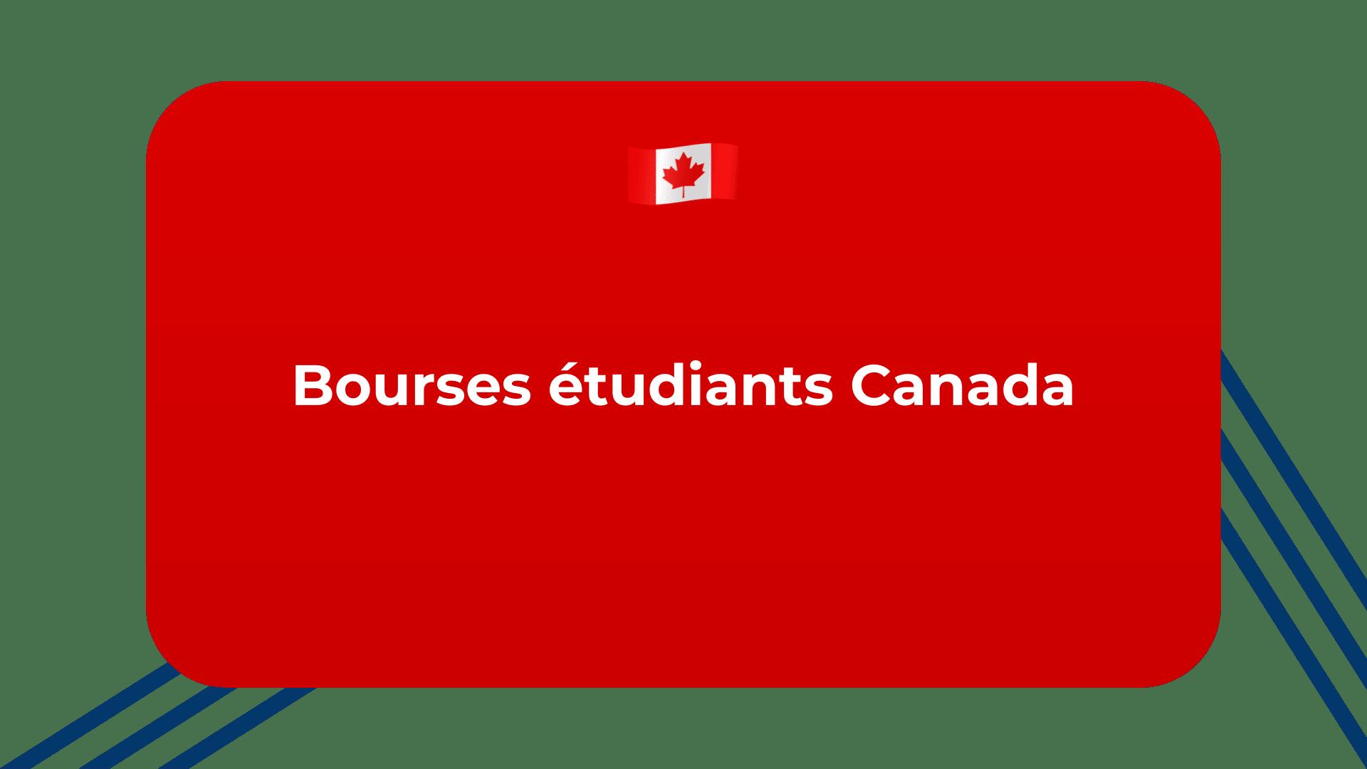Bourses étudiants Canada