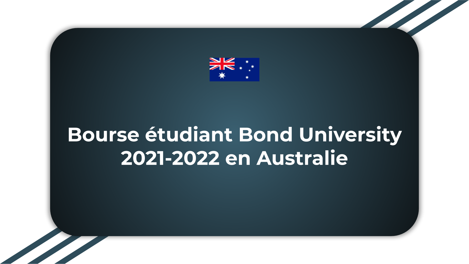 Bourse étudiant Bond University