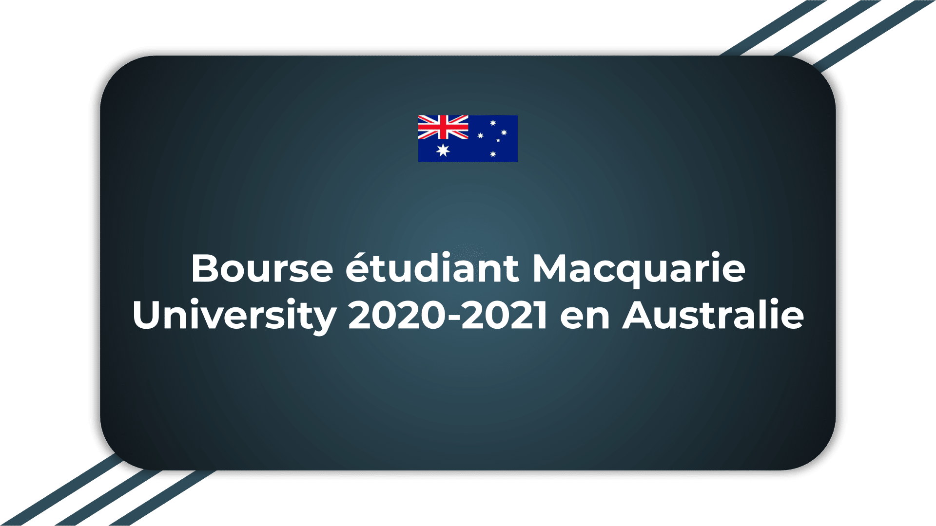 Bourse étudiant Macquarie University