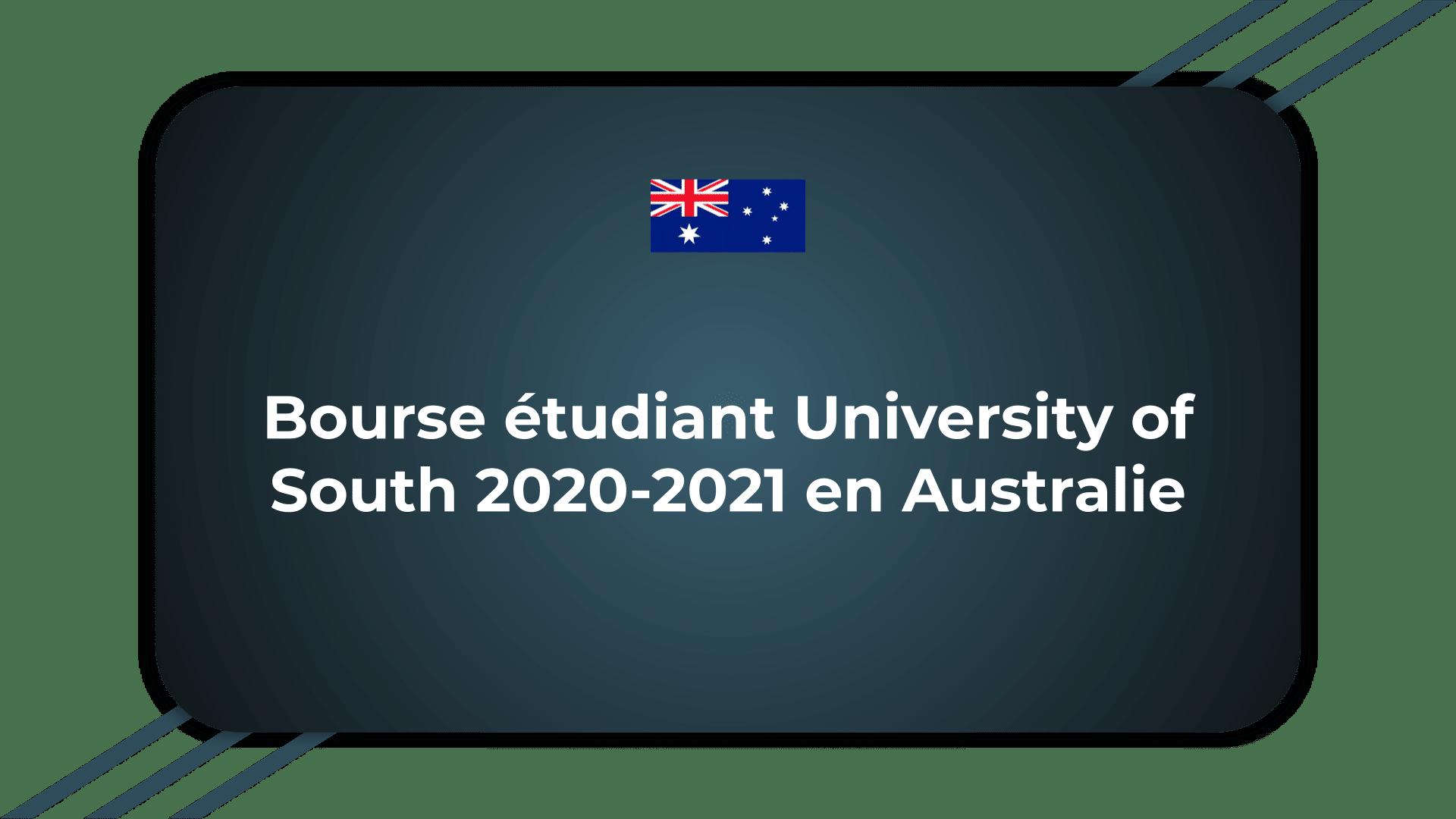 Bourse étudiant University of South