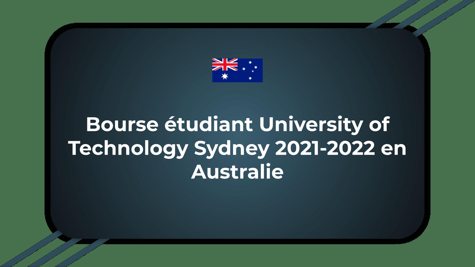 Bourse étudiant University of Technology Sydney