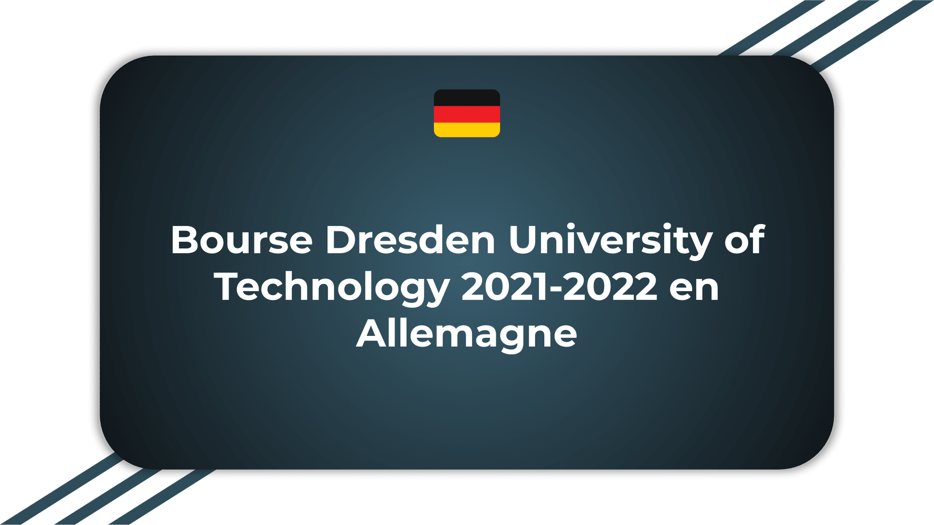 Bourse Dresden University of Technology