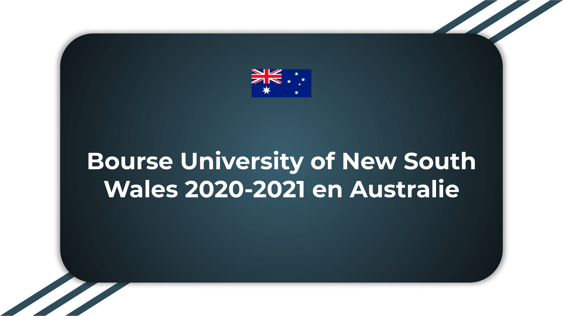 Bourse University of New South Wales