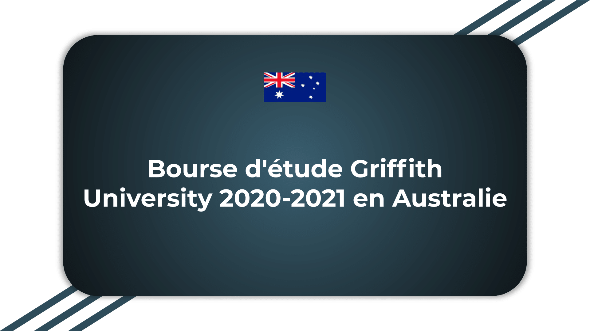 Bourse d'étude Griffith University