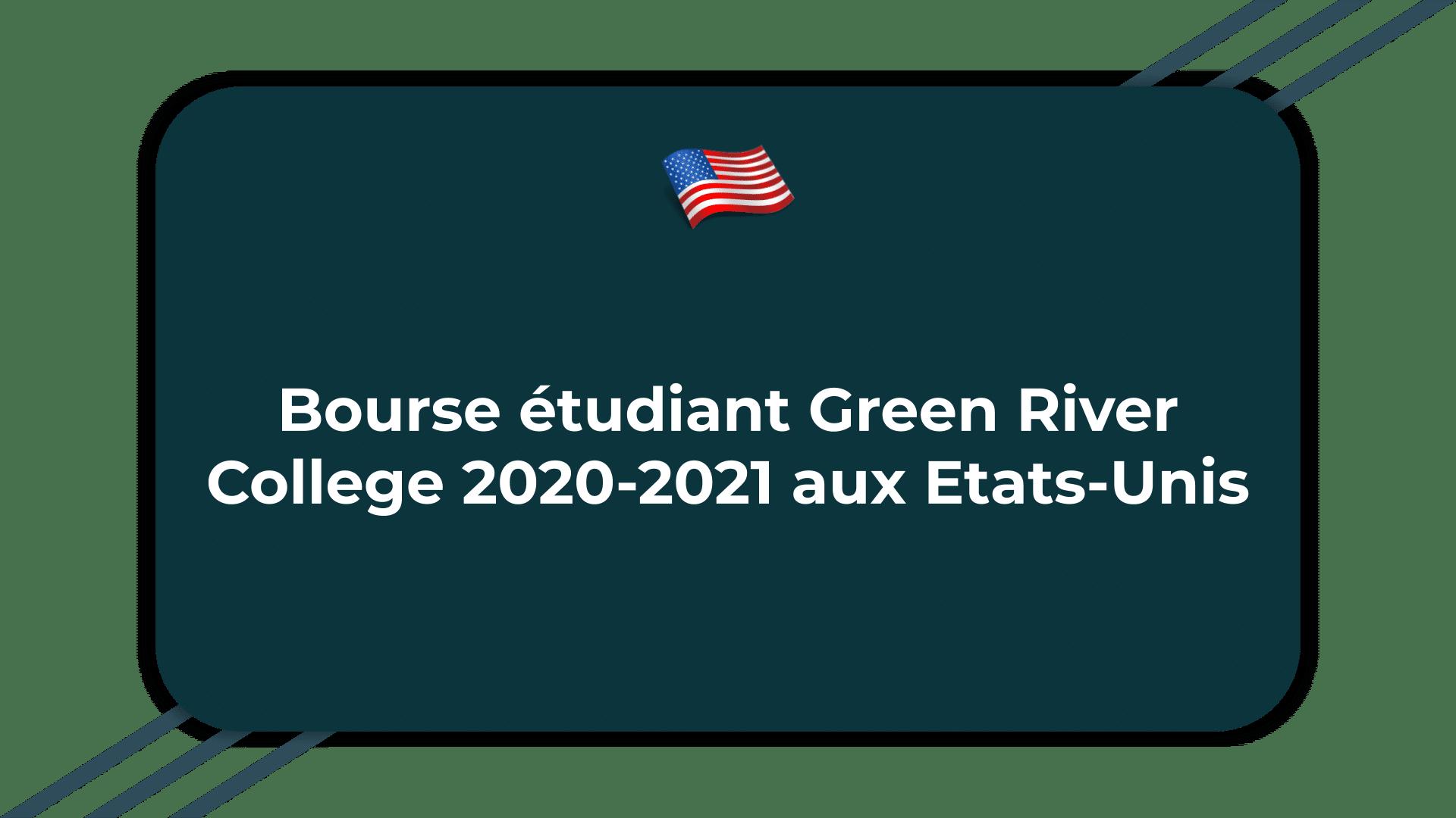 Bourse étudiant Green River College