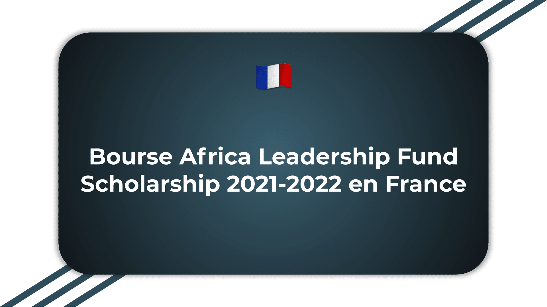 Bourse Africa Leadership Fund Scholarship