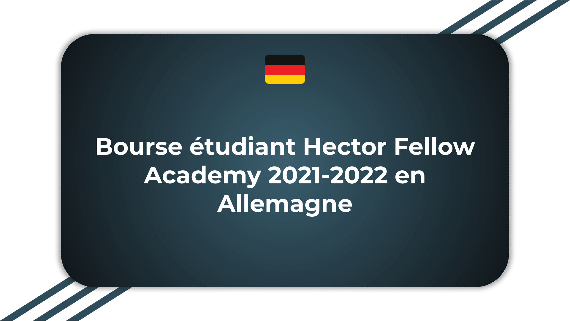 Bourse étudiant Hector Fellow Academy
