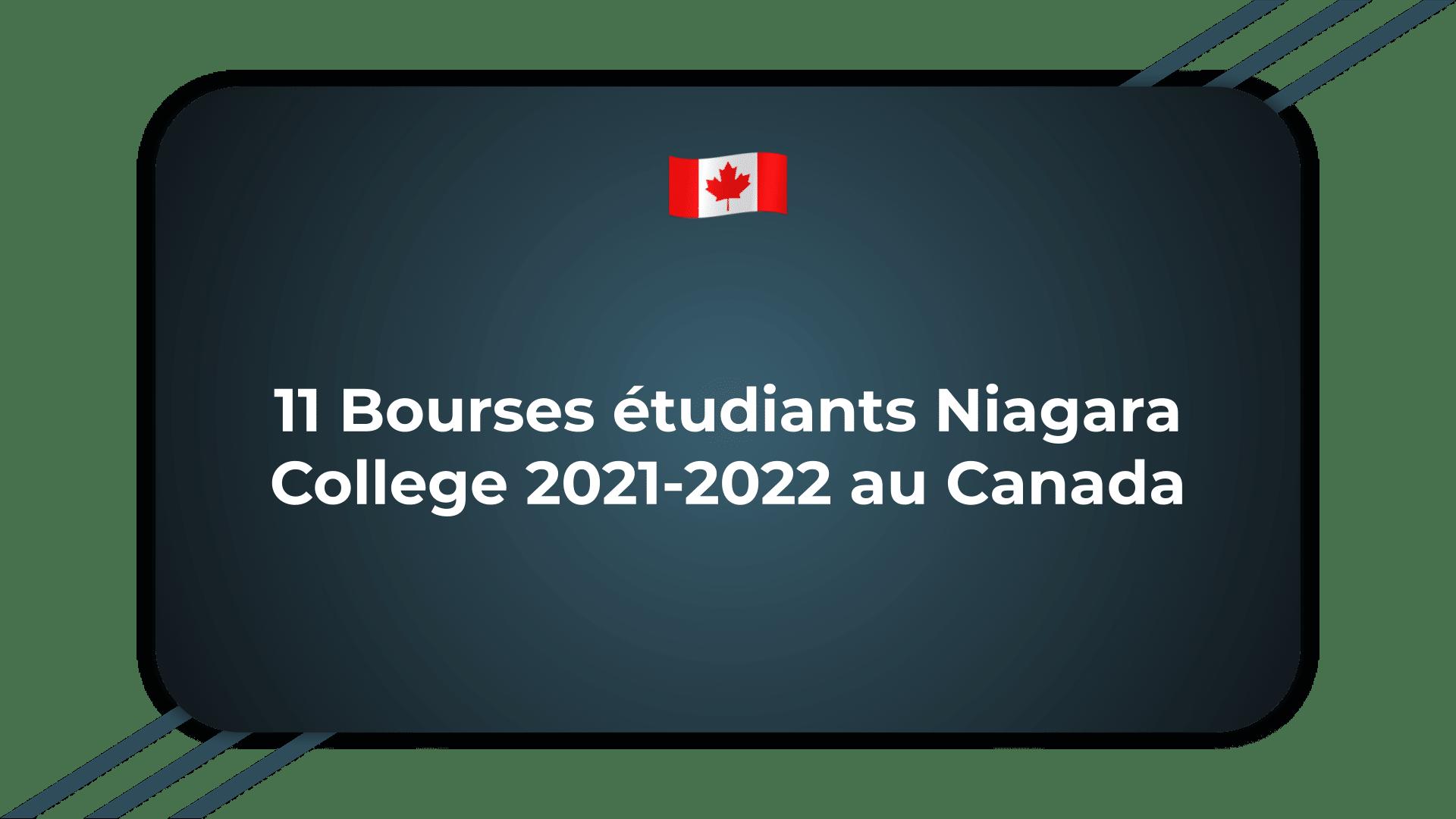 11 Bourses étudiants Niagara College