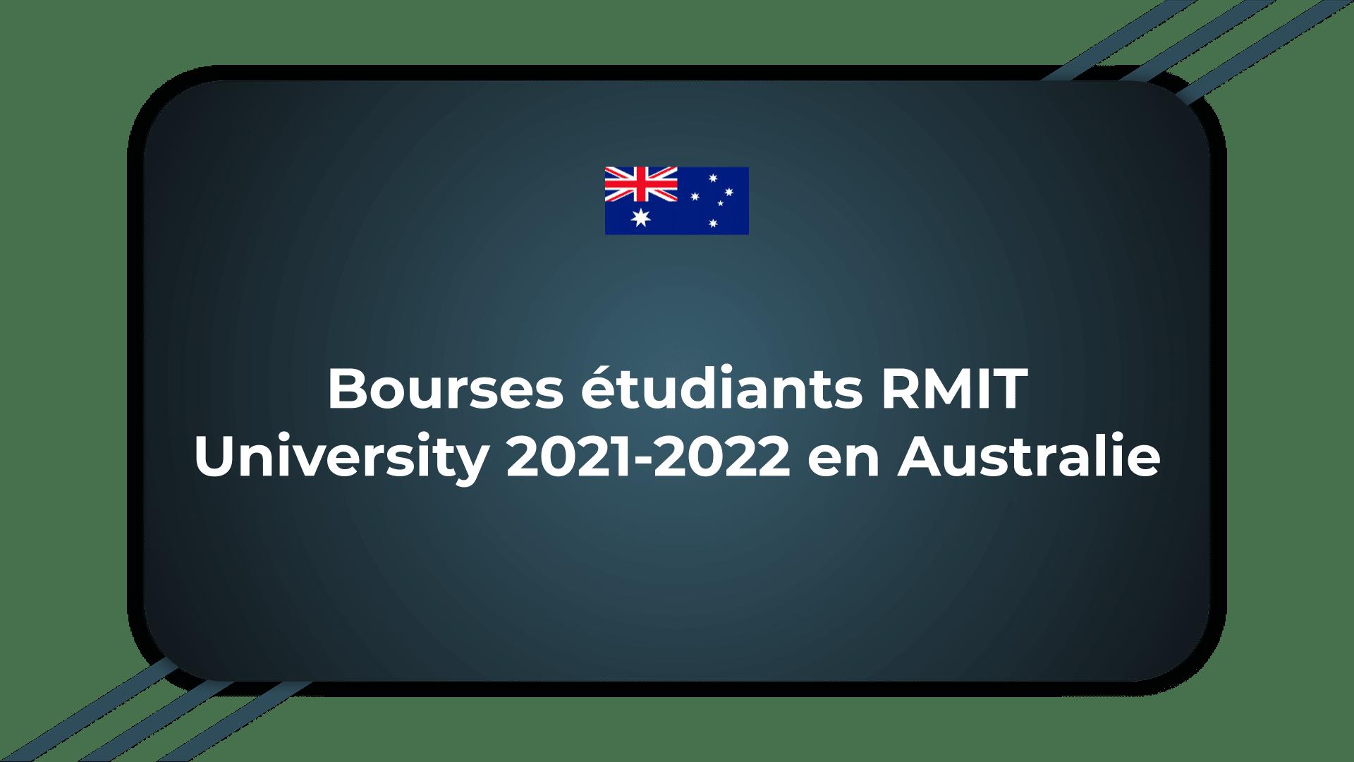 Bourses étudiants RMIT University