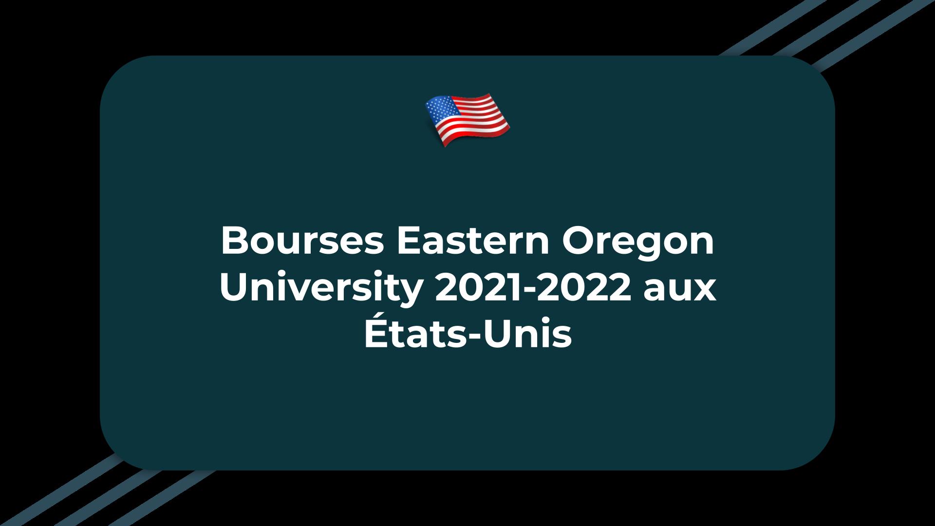 Bourses Eastern Oregon University