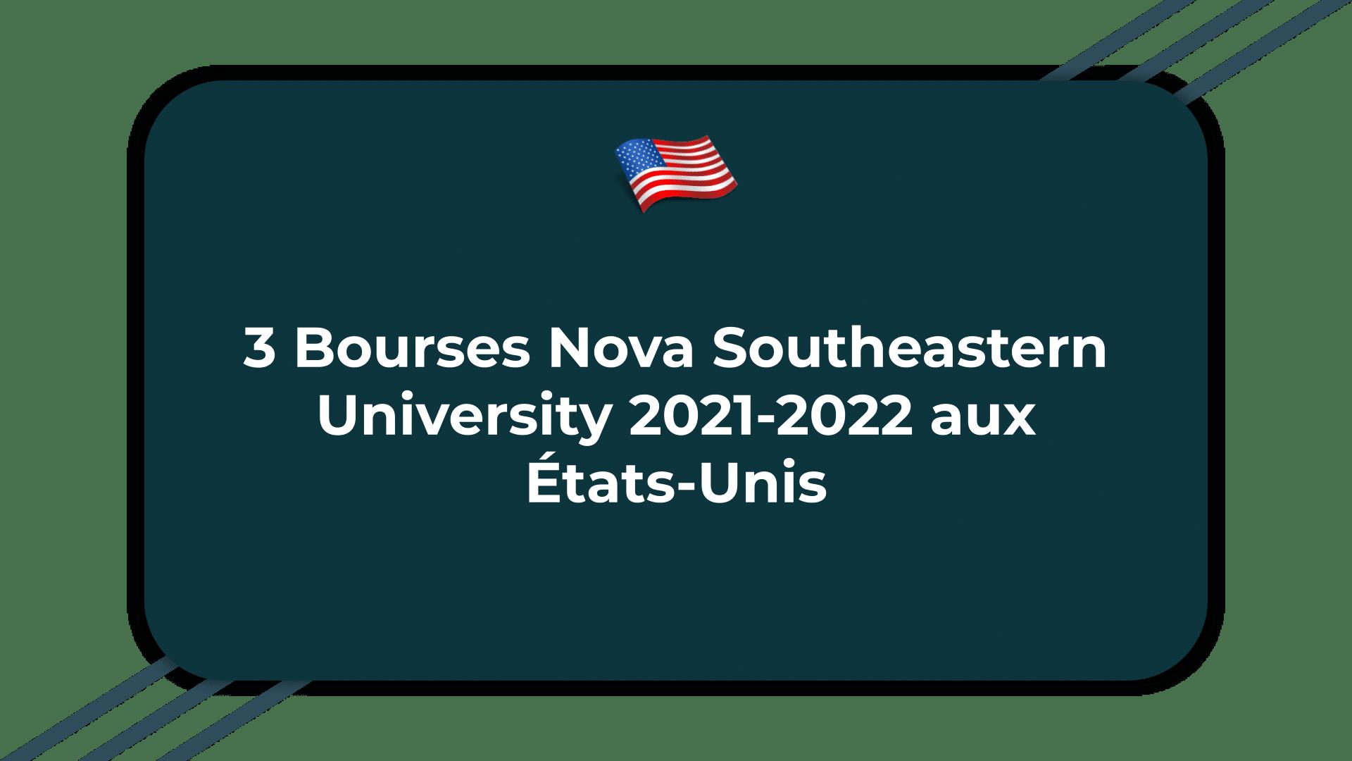 Bourses Nova Southeastern University
