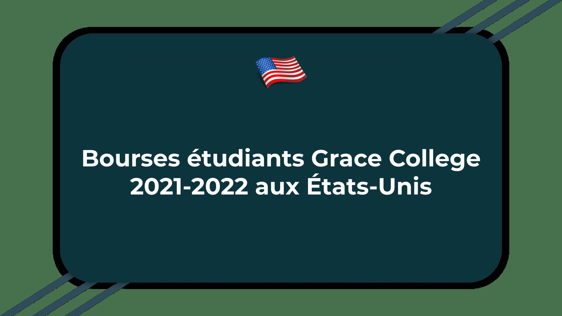 Bourses étudiants Grace College