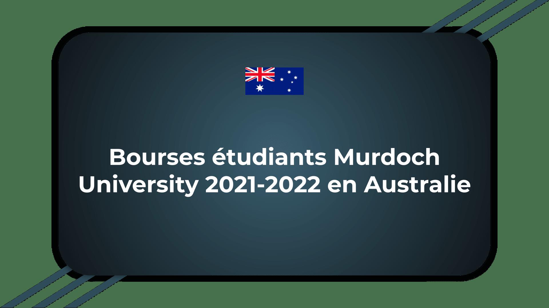 Bourses étudiants Murdoch University