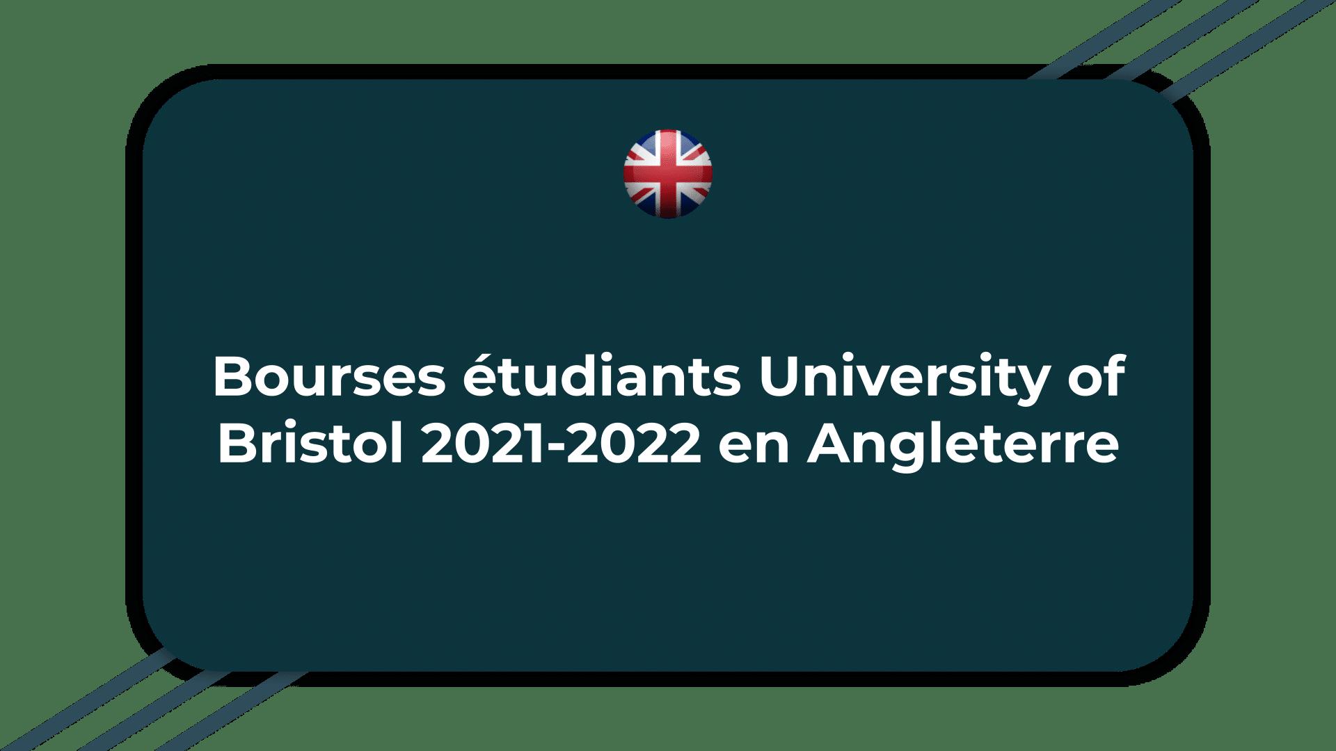 Bourses étudiants University of Bristol