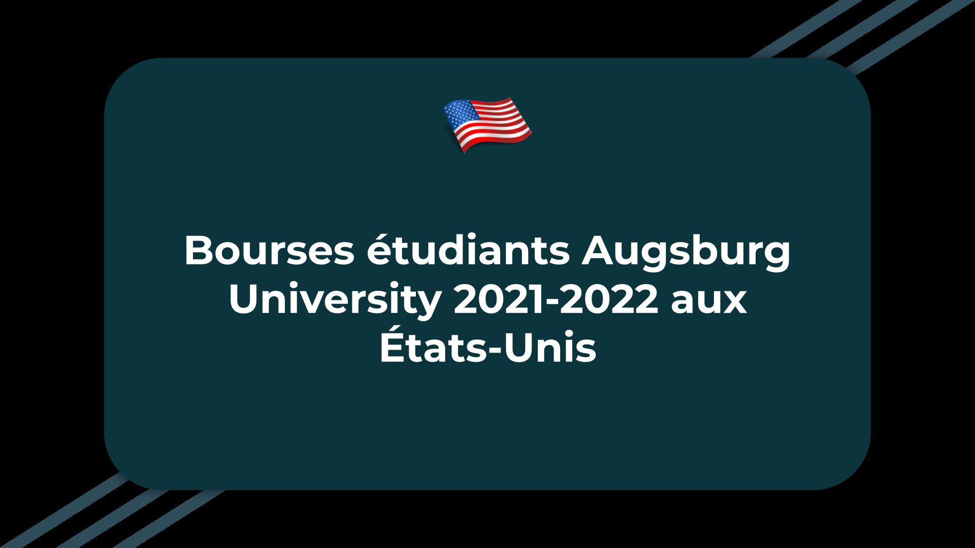 Bourses étudiants Augsburg University